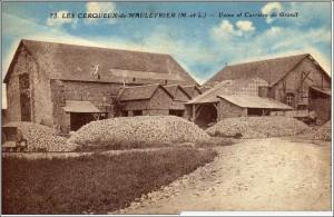 La carrière de La Foucherie dans les années 1930