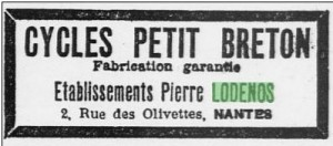 Cycles Petit-breton