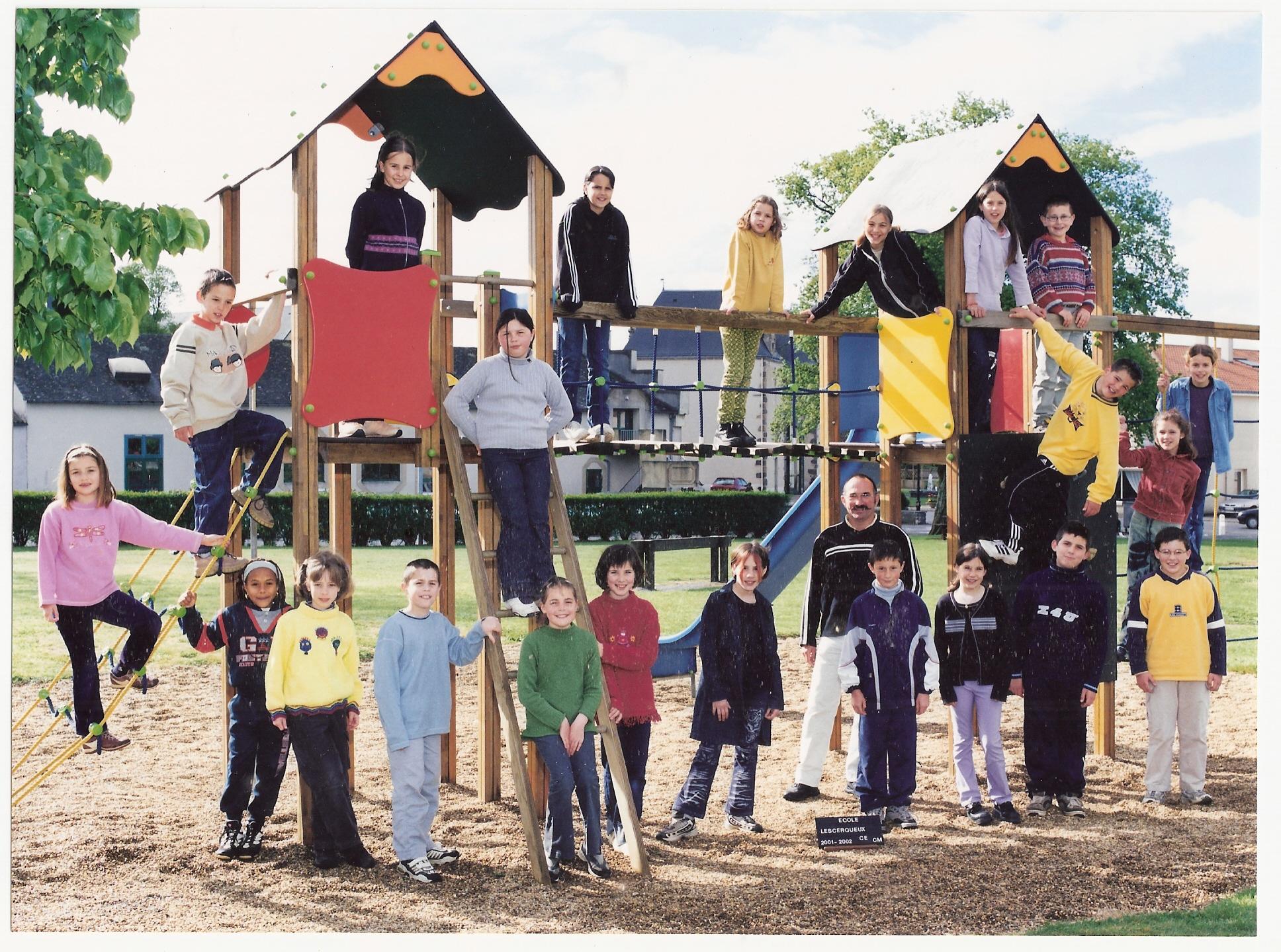 école des Cerqueux 2001-2002